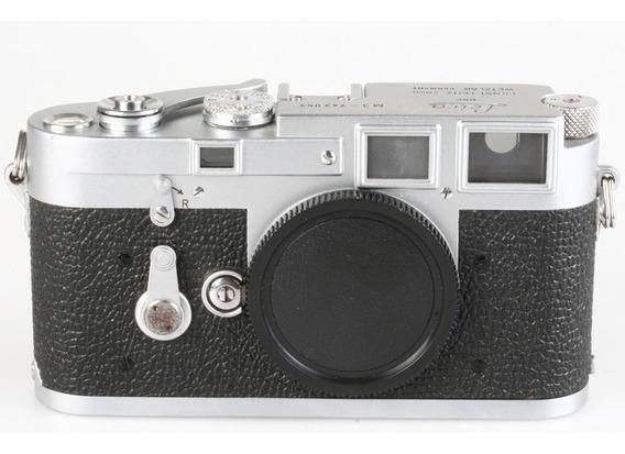 Câmera Analógica 35mm Leica M3 Corpo (1955)