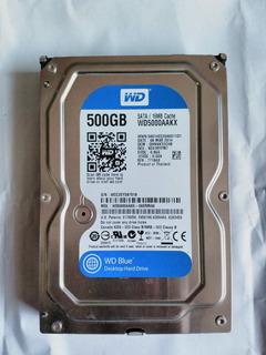 Disco Duro 500 Gb Sata Hdd Para Pc 3,5