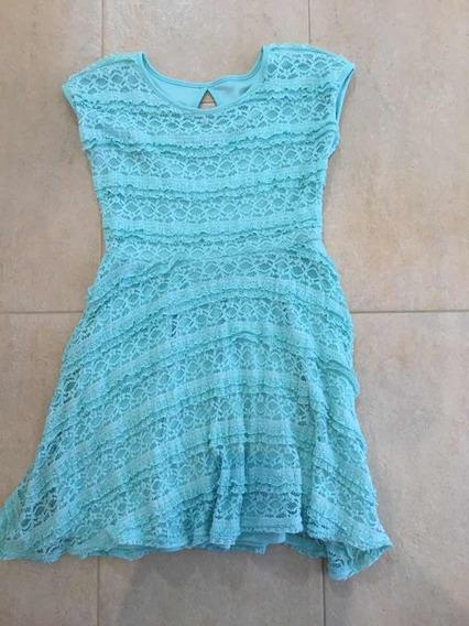 Vestido Juvenil Talla M Niña Epic Threads Torchon Blonda 15$