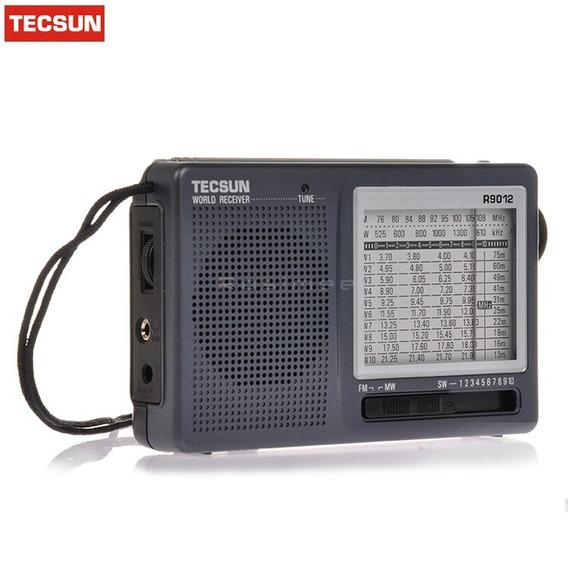 Rádio Portátil Am Fm Sw Ondas Curtas Tecsun