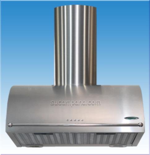 Cocina premium pared del ba/ño de alto flujo campana extractora 150 mm con descuento temporizador de retardo