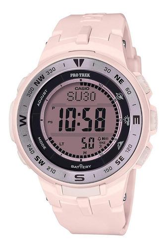 Relógio Casio Protrek Triple Sensor Prg-330-4jf Rosa