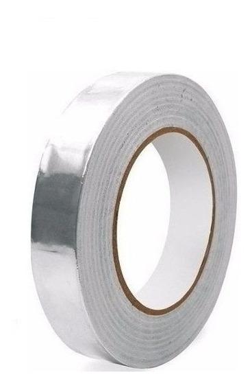 Fita Térmica Alumínio Alta Temperatura 20mm Rolo 30mts