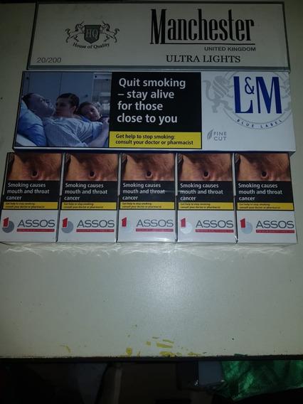Cigarrillos Importados. Varias Marcas. Cartón Cerrado.