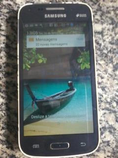 Vendo Samsung Galaxy Duos Com Relogio E Brinco