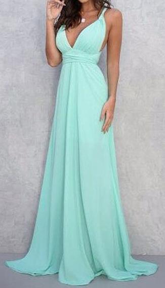 Vestido Longo Multiformas, Varias Formas De Usar