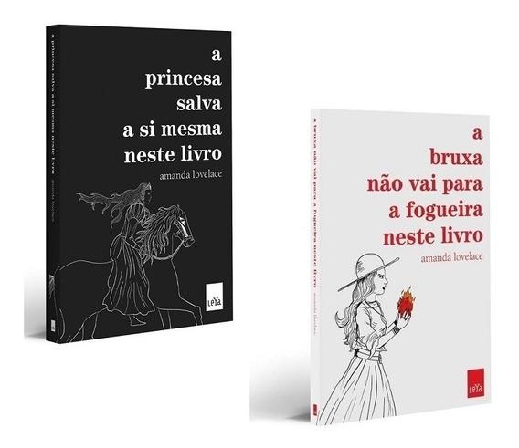Kit Livros Amanda Lovelace - A Princesa + A Bruxa *
