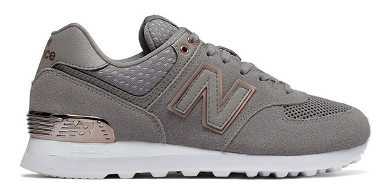 Zapatillas New Balance 574 All Day Rose-envio Gratis