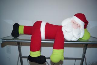 Muñeco Navideño Santa Dormido