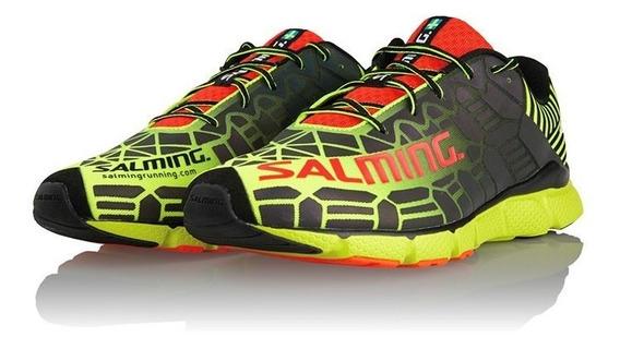 Zapatillas Hombre Running Correr Salming Speed 6 Noche Brill