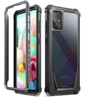 Funda Galaxy A71 Poetic Máxima Protección Total 360 Samsung