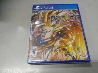 Dragon Ball Fighter Z Ps4 Nuevo Y Sellado