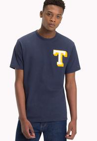 Tjm Essential T Tee - Tommy Jeans - 1170341 - Azul Marino