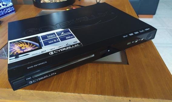 Dvd Cyberlux 670nscx Con Karaoke Y Entrada Usb Como Nuevo