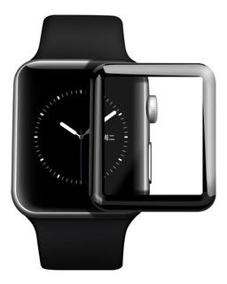 Película 3d Relogio Apple Watch 38 40 Mm 42 44 Mm Cobre Tela