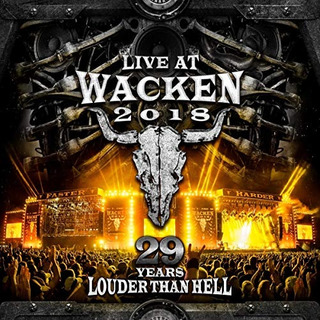 Dvd : Live At Wacken 2018: 29 Years Louder Than Hell (4...