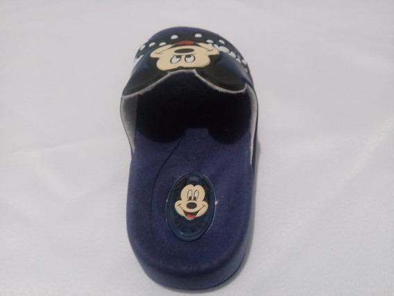 Chinelo Infantil Personag Mickey Mouse Minnie Última Peça.
