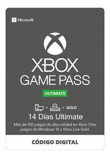 Xbox Game Pass Ultimate 14 Días Código Renovación