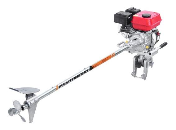 Rabeta Master Plus Pantaneiro 1,70m + Motor 7hp 4t Branco