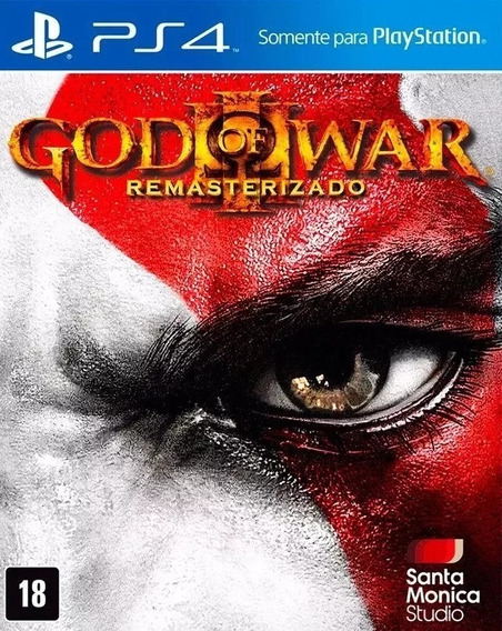 God Of War 3 Remasterizado Ps4 (midia Fisica Lacrado!)