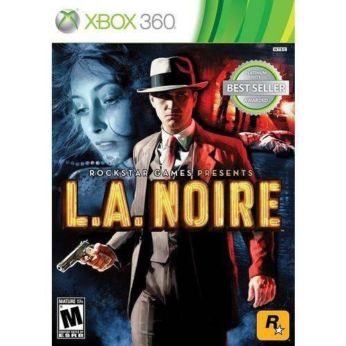 L.a. Noire Xbox 360 Original Seminovo