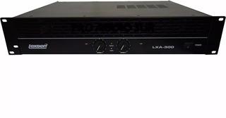 Potencia Lexsen Lxa300 Amplificador 300w 150w+150w 12 Cuotas