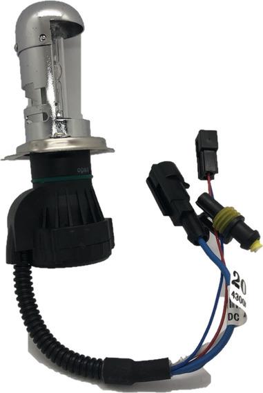 Lampada Xenon 4300k Reposição 1 Unidade H4 Bi
