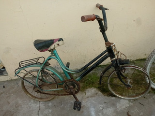 Bicicleta Monark Antigua Rodado 16 A Restaurar $2000