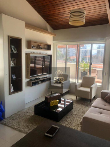 Cobertura Com 3 Dormitórios À Venda, 200 M² Por R$ 590.000,00 - Barreiros - São José/sc - Co0041