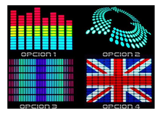 Paneles Led Audioritmicos
