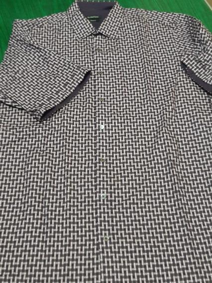 Camisa Bugatchi # 146 Manga Corta