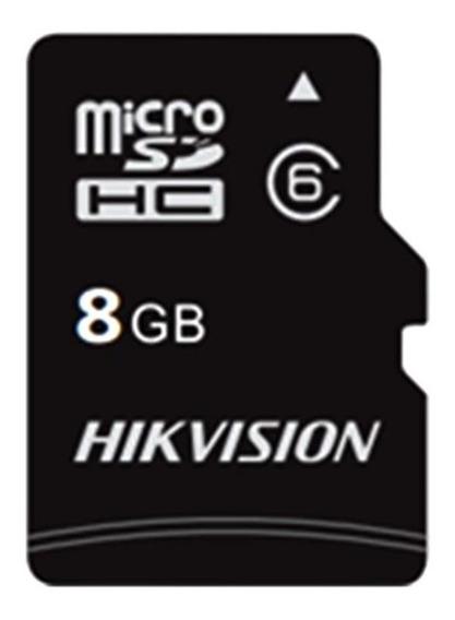 Cartão Mem Micro Sd Hikvision 8gb + 1 Adpt. Classe 10