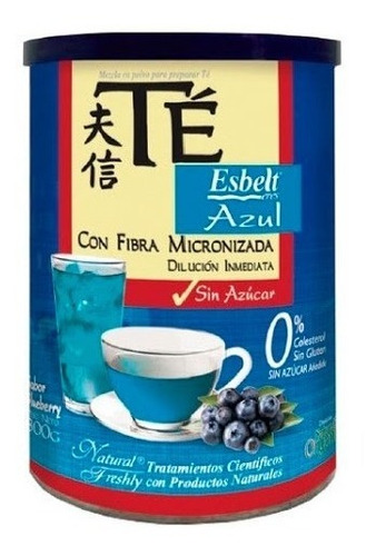 Te Azul Fibra Natural Fres