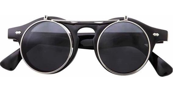 Lentes De Sol Steampunk Estilo Retro Gafas Moda Fashion