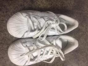 Gomas adidas Original Talla 12 Blancas
