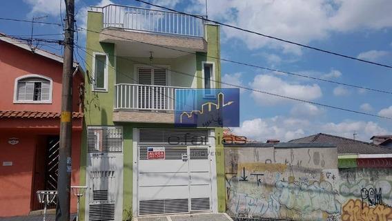 Sobrado Com 2 Dormitórios Para Alugar, 70 M² Por R$ 1.450,00/mês - Jardim Santa Maria - São Paulo/sp - So0632