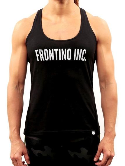 Franelilla Tipografía Blanco - Frontino Inc.- Crossfit