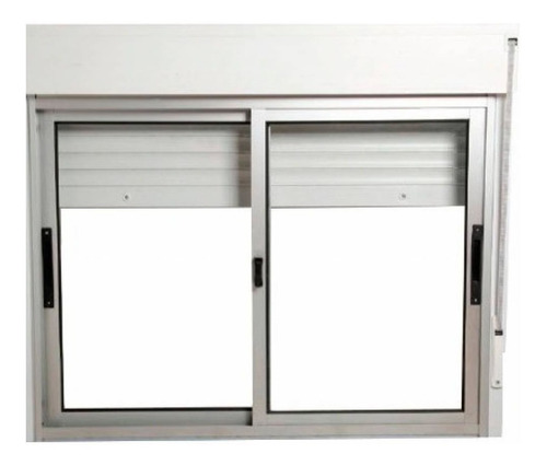 Ventana Monoblock De Aluminio De 120x100 Premium