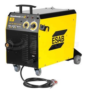 Máquina Solda Mig Mag 250a Smashweld 266x Trifásica Esab