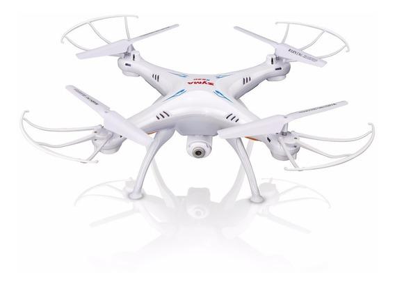 Drone Syma X5sw-1 Branco Fpv Real-time - Controle Remoto 4ch