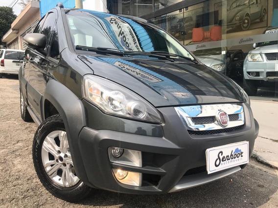 Fiat Idea 1.8 16v Adventure Flex Cinza - 2013