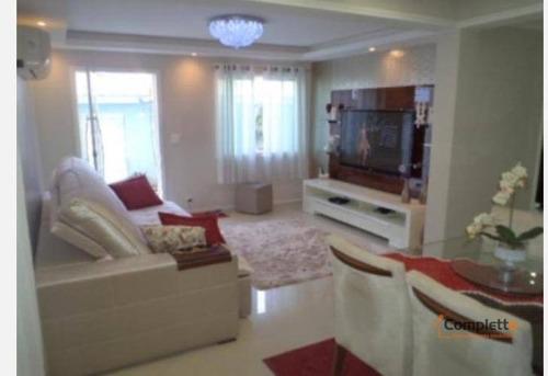 Imagem 1 de 22 de Maravilhosa Casa Duplex Em Condomínio, Com 3 Quartos - Taquara. - Ca0108