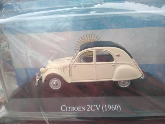 Autos Inolvidables Argentinos 87 Citroen 2cv De 1960.