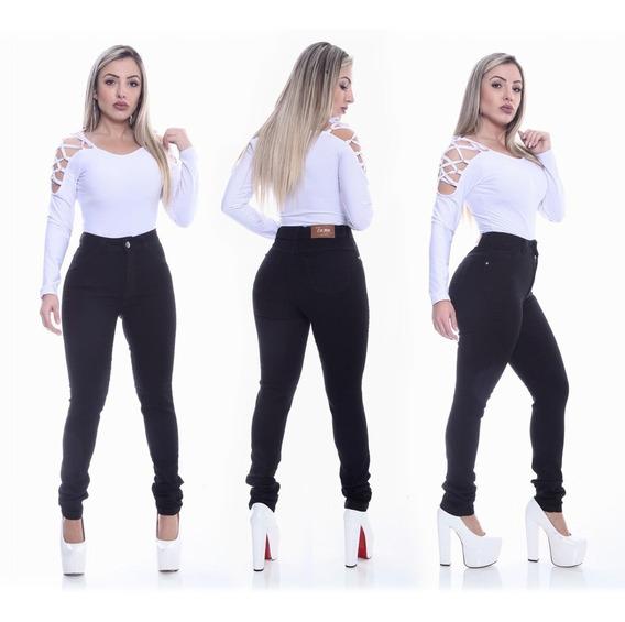 Calça Jeans Feminina Cintura Alta Atacado