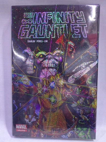 Guantelete Del Infinito Marvel Deluxe Pasta Dura