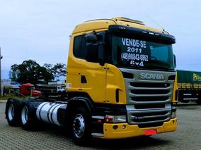 Scania 2011 - 4x4 - Cambio Manual - Único Dono