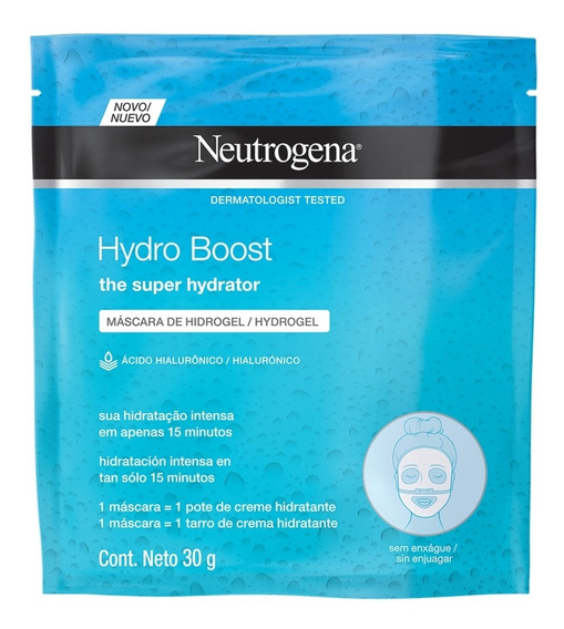 Máscara De Hidrogel Neutrogena Hydro Boost 30ml