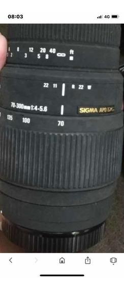 Lente Sigma Dg 70/300