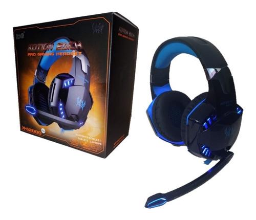 Audifonos Diadema Gamer Each G2000 - Microfono - Led