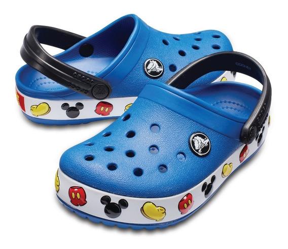 Crocband Mickey Clog K Blue Jean Envío A Todo El País